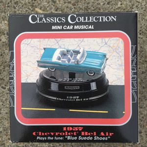 1957 Chevrolet Bel Air. Mini Musical Car by Enesco. for Sale in Milwaukie, OR