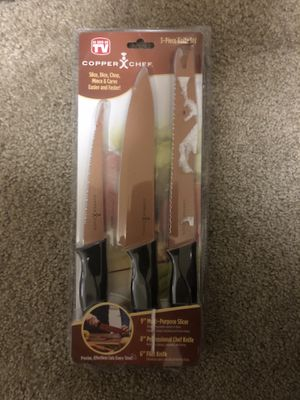 Copper chef knife for Sale in Inglewood, CA