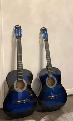 Best choice products 38in beginner acoustic guitars - blue acoustic guitars for Sale in St. Louis, MO