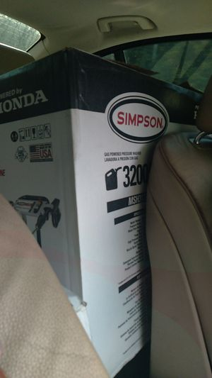 Simpson Pressure washer 3200 psi for Sale in Conyers, GA