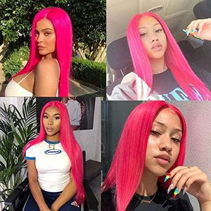 Dark Pink Beauty Lace Front Wig for Sale in Carson, CA