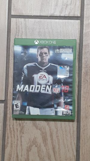 Xbox One Madden 18 for Sale in San Diego, CA