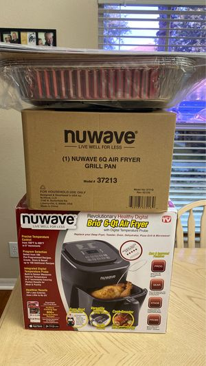 Nuwave 6 Quart Air Fryer With Extras for Sale in Port Richey, FL