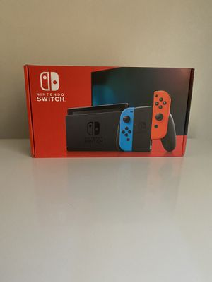 Brand new Nintendo switch v2 no trades cash only. for Sale in TEMPLE TERR, FL