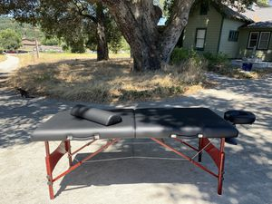 Portable Massage Table - like new & American made for Sale in Atascadero, CA