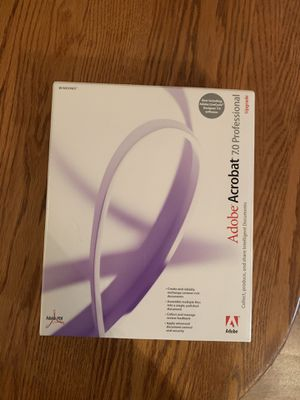 Adobe Acrobat for Sale in Fuquay-Varina, NC