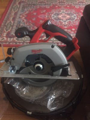 Brand New Milwaukee New arrive table saw 5 year warranty for Sale in Memphis, TN