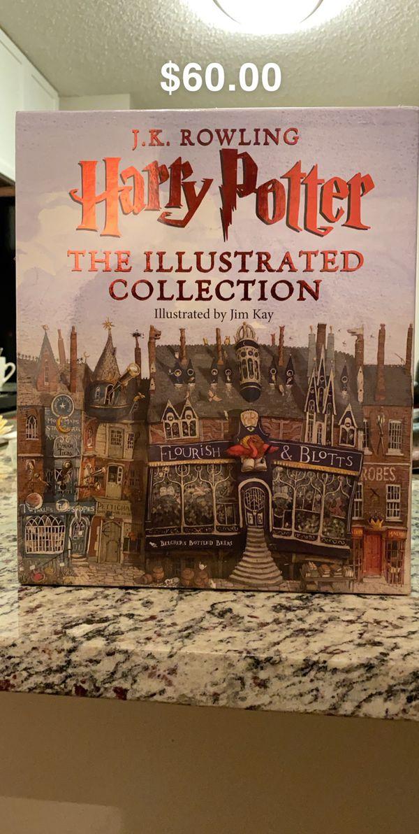 3 Books new - Harry Potter