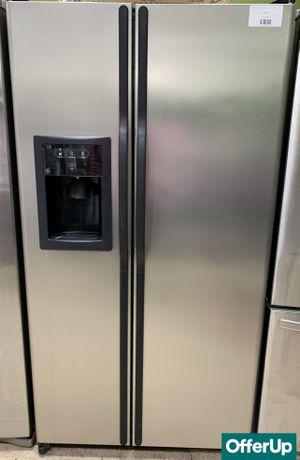 🚀🚀🚀Side by Side Refrigerator Fridge GE Stainless Steel #764🚀🚀🚀 for Sale in Orlando, FL