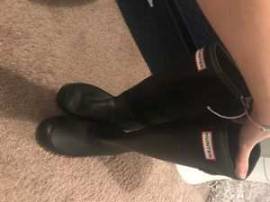 HUNTER rain boots size 8 for Sale in St. Petersburg, FL