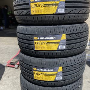 235/50R18 Landgolden $360 Four Brand New Tires ( Installation & Balancing Included ) for Sale in Rialto, CA