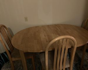 Kitchen table dining table kitchen chairs dining chairs for Sale in Fullerton, CA