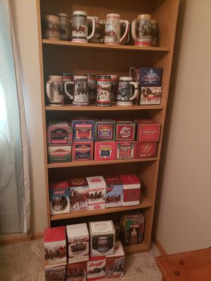 Budweiser Holiday Steins for Sale in Mitchell, SD