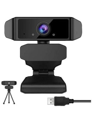 Brand New - Webcam with Microphone for Desktop - 1080p HD Full Gaming Computer Camera, Web Cameras for Computers, 110-Degree USB PC Webcam for Video for Sale in Boca Raton, FL