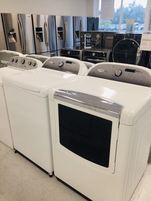 🔥🔥whirlpool cabrio washer and electric dryer set in excellent condition 90 days warranty 🔥🔥 for Sale in Mount Rainier, MD