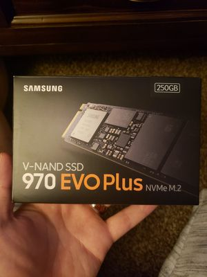 970 evo plus NVMe m.2 for Sale in Abilene, TX