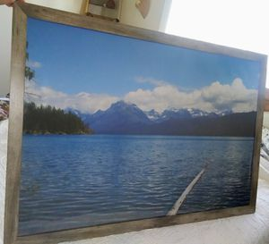 Framed picture of Lake McDonald MT for Sale in Everett, WA