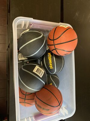 11 small basketballs for Sale in Gilbert, AZ