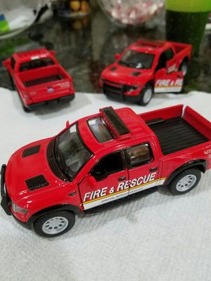 Used, collectibles Ford F-150 SVT Raptor SuperCrew fire rescue for Sale for sale  Queens, NY