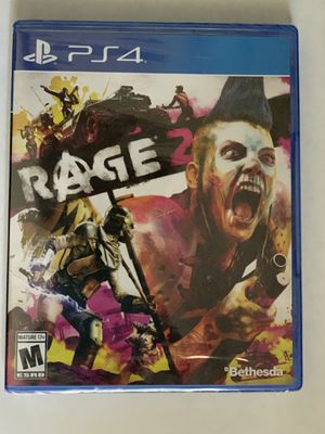 NEW- PS4 RAGE2 game for Sale in Loganville, GA