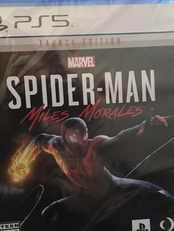 Spider-Man Miles Morales pS5 for Sale in San Angelo,  TX