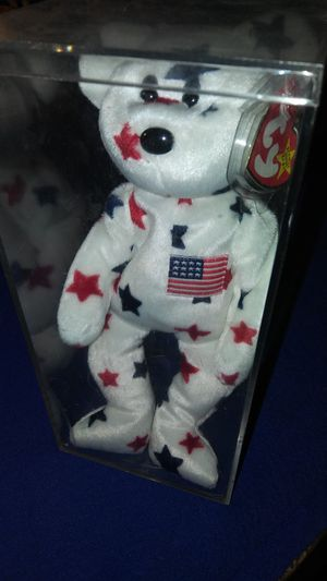 Glory Bear Ty Beanie Baby from 1997 for Sale in Garland, TX