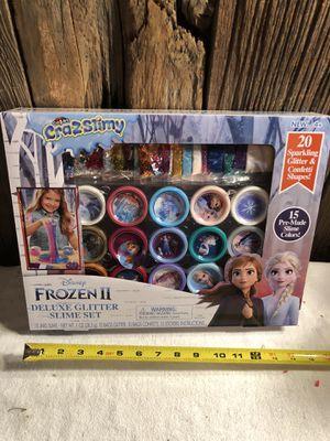 Frozen II Glitter Slime Set - new for Sale in Bay City, MI