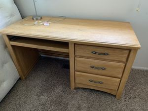 Desk and dresser for sale for Sale in Arvada, CO