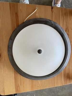Oil rubbed bronze ceiling mount light fixture for Sale in Orient, OH