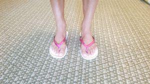 Hot pink sandals for Sale in St. Petersburg, FL