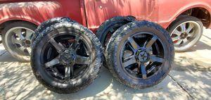 Wheels & Tire 5x4.5 / 5x5 5 Lug Universal for Sale in Menifee, CA