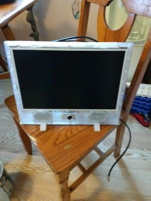 15' clear tech flat-screen TV. Used in prison for Sale in Le Mars, IA