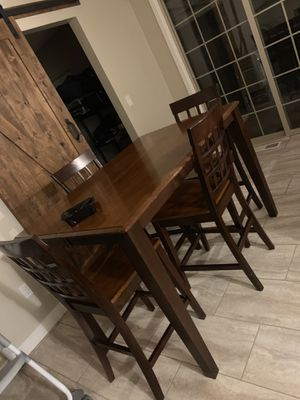 Bar Stool Dinning Set for Sale in Tacoma, WA