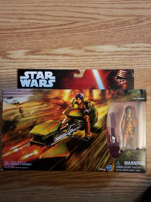"New Star Wars "" Ezra Bridgers Speeder "" for Sale in Apopka, FL"