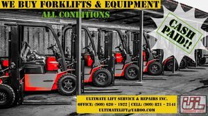 $$$$$$$$$FORKLIFT AND EQUIPMENT BUYER $$$$$$ for Sale in Pomona, CA