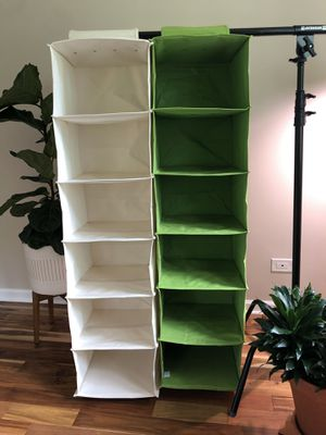 Canvas hanging organizers for Sale in Willowbrook, IL