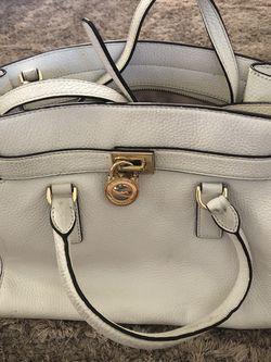 White Hamilton Michael Kors Purse for Sale in Fort Myers,  FL