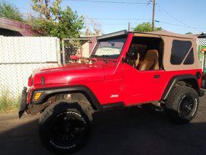 Jeep wangler 97 4 cilinders 4×4 standar for Sale in Phoenix, AZ