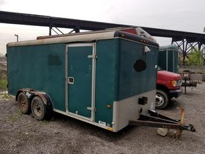 Wells Cargo 16 x 8 enclosed trailer for Sale in Cleveland, OH