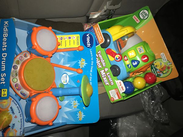 Vtech and leap frog toys 20 for both