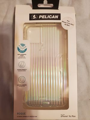 Pelican rouge case for iPhone xs max new in box for Sale in Phoenix, AZ