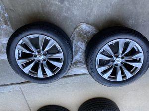 "2013 Infiniti M37 18"" original rim set with tires. for Sale in O'Fallon, MO"