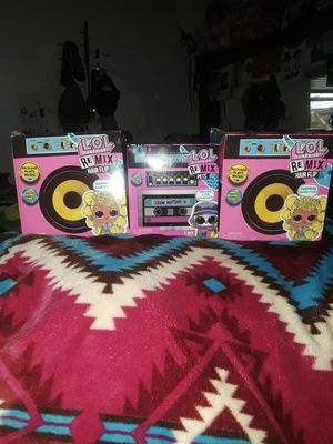 Lol Surprise ReMix Boombox Set! for Sale in Lawton, OK