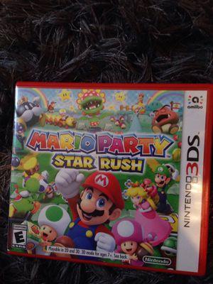 Mario Party Star Rush for Sale in San Antonio, TX