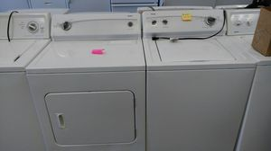 Kenmore 800 series (washer/dryer set) (white) for Sale in Cleveland, OH