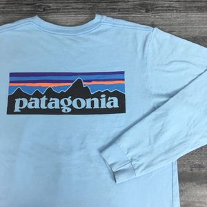Baby Blue Patagonia Long Sleeve Shirt for Sale in Colorado Springs, CO