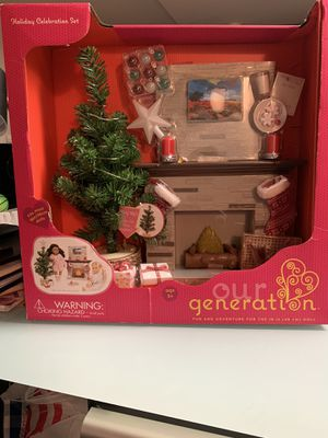 Our Generation Christmas holiday set for Sale in Chicago, IL