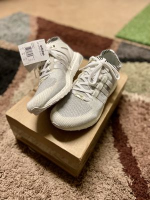 Adidas Men's Originals EQT Support Ultraboost PK Vintage White Boost Shoes - Size 11 for Sale in Union City, CA