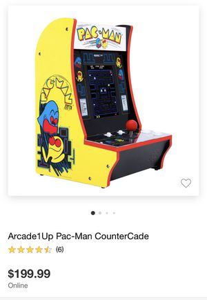 Pac-Man Arcade1up Counter Cade NEW for Sale in Costa Mesa, CA