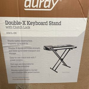 Double X Keyboard Stand With Clutch Lock for Sale in Los Angeles, CA
